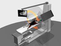 Fidex w trybie weterynaryjnego tomografu komputerowego